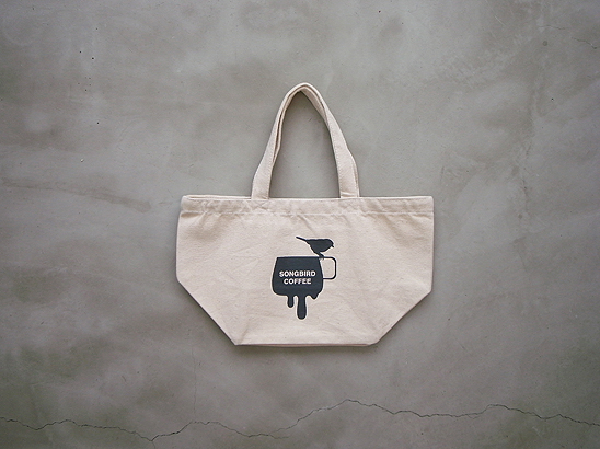 SONGBIRD COFFEE TOTE S